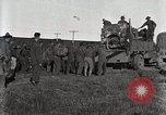 Image of Army uses Holt tractor to pull trucks from mud North Platte Nebraska USA, 1919, second 3 stock footage video 65675025550