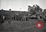 Image of Army uses Holt tractor to pull trucks from mud North Platte Nebraska USA, 1919, second 5 stock footage video 65675025550