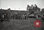 Image of Army uses Holt tractor to pull trucks from mud North Platte Nebraska USA, 1919, second 6 stock footage video 65675025550