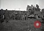 Image of Army uses Holt tractor to pull trucks from mud North Platte Nebraska USA, 1919, second 8 stock footage video 65675025550