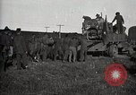 Image of Army uses Holt tractor to pull trucks from mud North Platte Nebraska USA, 1919, second 9 stock footage video 65675025550