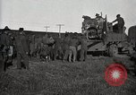 Image of Army uses Holt tractor to pull trucks from mud North Platte Nebraska USA, 1919, second 10 stock footage video 65675025550
