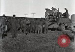 Image of Army uses Holt tractor to pull trucks from mud North Platte Nebraska USA, 1919, second 11 stock footage video 65675025550