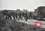 Image of Truck of Army motor convoy tipped into a ditch North Platte Nebraska USA, 1919, second 4 stock footage video 65675025551