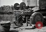 Image of Truck of Army motor convoy tipped into a ditch North Platte Nebraska USA, 1919, second 8 stock footage video 65675025551
