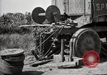 Image of Truck of Army motor convoy tipped into a ditch North Platte Nebraska USA, 1919, second 11 stock footage video 65675025551