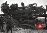 Image of U.S. Army convoy truck breaks through wooden bridge Wyoming United States USA, 1919, second 4 stock footage video 65675025554
