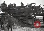 Image of U.S. Army convoy truck breaks through wooden bridge Wyoming United States USA, 1919, second 5 stock footage video 65675025554