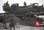 Image of U.S. Army convoy truck breaks through wooden bridge Wyoming United States USA, 1919, second 6 stock footage video 65675025554