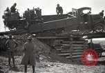 Image of U.S. Army convoy truck breaks through wooden bridge Wyoming United States USA, 1919, second 8 stock footage video 65675025554