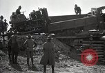 Image of U.S. Army convoy truck breaks through wooden bridge Wyoming United States USA, 1919, second 10 stock footage video 65675025554