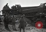 Image of U.S. Army convoy truck breaks through wooden bridge Wyoming United States USA, 1919, second 11 stock footage video 65675025554