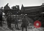 Image of U.S. Army convoy truck breaks through wooden bridge Wyoming United States USA, 1919, second 12 stock footage video 65675025554