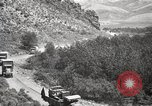 Image of 1919 U.S. Army motor convoy in Western States Utah United States USA, 1919, second 8 stock footage video 65675025555