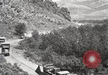 Image of 1919 U.S. Army motor convoy in Western States Utah United States USA, 1919, second 9 stock footage video 65675025555