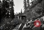 Image of U.S. Army motor transport convoy crossing mountains California United States USA, 1919, second 9 stock footage video 65675025559