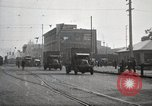 Image of U.S. Army motor transport convoy completes its mission Oakland California, 1919, second 3 stock footage video 65675025562
