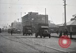 Image of U.S. Army motor transport convoy completes its mission Oakland California, 1919, second 4 stock footage video 65675025562