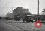 Image of U.S. Army motor transport convoy completes its mission Oakland California, 1919, second 5 stock footage video 65675025562