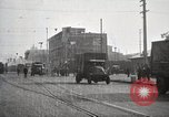 Image of U.S. Army motor transport convoy completes its mission Oakland California, 1919, second 10 stock footage video 65675025562