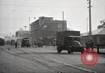 Image of U.S. Army motor transport convoy completes its mission Oakland California, 1919, second 12 stock footage video 65675025562
