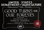 Image of Importance of forest Los Angeles California USA, 1935, second 10 stock footage video 65675025582