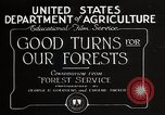 Image of Importance of forest Los Angeles California USA, 1935, second 11 stock footage video 65675025582
