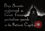 Image of Boy Scouts Washington DC USA, 1925, second 2 stock footage video 65675025588