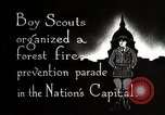 Image of Boy Scouts Washington DC USA, 1925, second 3 stock footage video 65675025588