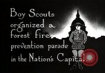 Image of Boy Scouts Washington DC USA, 1925, second 4 stock footage video 65675025588