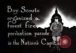 Image of Boy Scouts Washington DC USA, 1925, second 5 stock footage video 65675025588