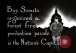 Image of Boy Scouts Washington DC USA, 1925, second 7 stock footage video 65675025588