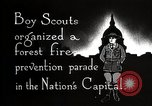 Image of Boy Scouts Washington DC USA, 1925, second 10 stock footage video 65675025588