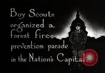 Image of Boy Scouts Washington DC USA, 1925, second 11 stock footage video 65675025588