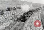 Image of Steam locomotives moving troop trains France, 1918, second 2 stock footage video 65675025590