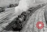 Image of Steam locomotives moving troop trains France, 1918, second 4 stock footage video 65675025590