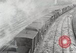 Image of Steam locomotives moving troop trains France, 1918, second 8 stock footage video 65675025590