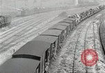 Image of Steam locomotives moving troop trains France, 1918, second 10 stock footage video 65675025590