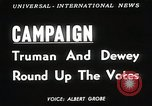Image of President Harry S Truman Texas United States USA, 1948, second 2 stock footage video 65675025594