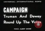 Image of President Harry S Truman Texas United States USA, 1948, second 6 stock footage video 65675025594