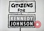 Image of John F. Kennedy presidential campaign advertisement United States USA, 1960, second 2 stock footage video 65675025596