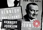 Image of John F. Kennedy presidential campaign advertisement United States USA, 1960, second 3 stock footage video 65675025596
