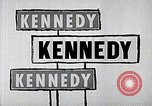 Image of John F. Kennedy presidential campaign advertisement United States USA, 1960, second 8 stock footage video 65675025596