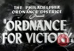 Image of Ordinance for victory Philadelphia Pennsylvania USA, 1942, second 5 stock footage video 65675025610