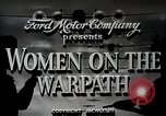 Image of Women in U.S. military United States USA, 1942, second 4 stock footage video 65675025611