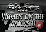 Image of Women in U.S. military United States USA, 1942, second 6 stock footage video 65675025611