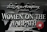 Image of Women in U.S. military United States USA, 1942, second 7 stock footage video 65675025611
