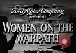 Image of Women in U.S. military United States USA, 1942, second 8 stock footage video 65675025611