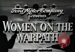 Image of Women in U.S. military United States USA, 1942, second 10 stock footage video 65675025611