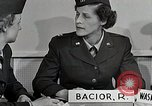 Image of flight nurses Montgomery Alabama USA, 1951, second 12 stock footage video 65675025620